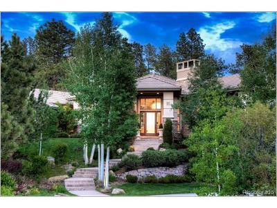 Castle Rock CO Single Family Home Active: $2,900,000