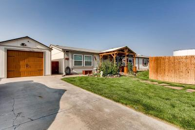 Commerce City Single Family Home Active: 6151 East 82nd Avenue