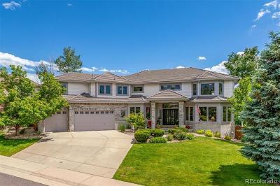 Centennial Single Family Home Active: 16408 East Dorado Avenue
