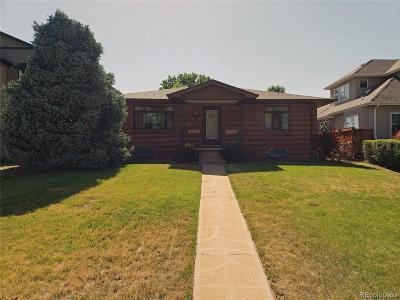 Denver Single Family Home Under Contract: 2585 South Columbine Street