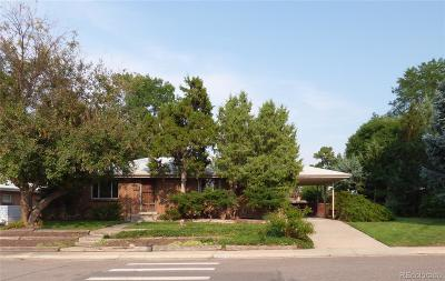 Centennial Single Family Home Under Contract: 6622 South Pearl Street
