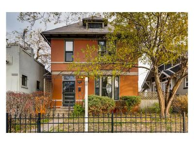 Denver Single Family Home Active: 2510 North Race Street