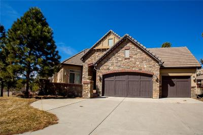 Castle Rock Single Family Home Under Contract: 5118 Pine River Trail