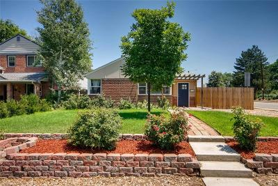 Denver Single Family Home Under Contract: 2301 East Yale Avenue