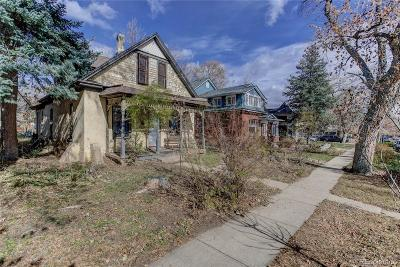 Boulder Single Family Home Under Contract: 2037 Mapleton Avenue