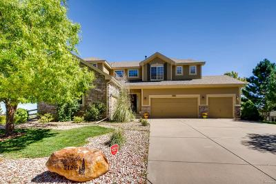 Littleton Single Family Home Active: 7186 Red Mesa Drive