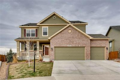 Castle Rock Single Family Home Under Contract: 2784 Brush Court