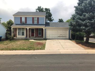 Aurora Single Family Home Active: 19895 East Bethany Drive
