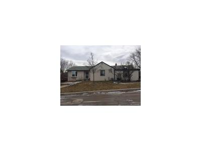 Golden, Lakewood, Arvada, Evergreen, Morrison Single Family Home Under Contract: 970 South Otis Street