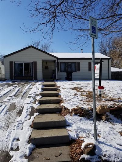 Aurora Single Family Home Under Contract: 1141 Galena Street