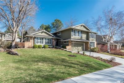 Centennial Single Family Home Under Contract: 4994 East Maplewood Drive