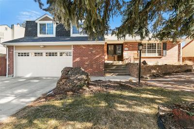 Englewood Single Family Home Under Contract: 6322 South Florence Way