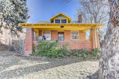 Denver Single Family Home Active: 2976 Perry Street