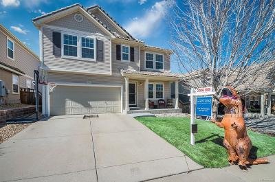 Castle Rock Single Family Home Under Contract: 3859 Dinosaur Street