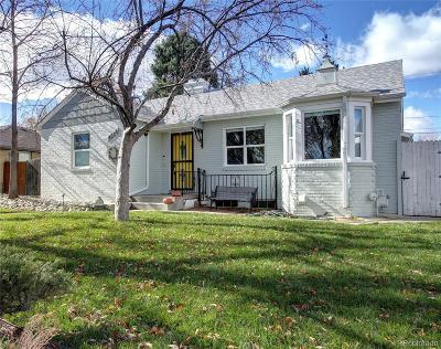 Denver Single Family Home Active: 4575 Beach Court