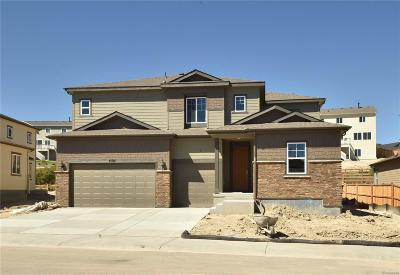 Castle Rock Single Family Home Under Contract: 4105 Spanish Oaks Way