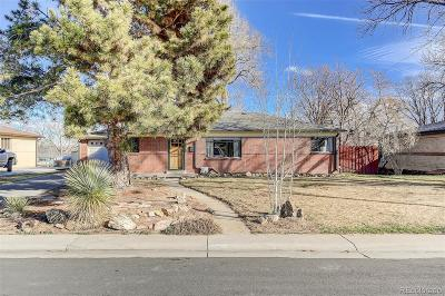 Wheat Ridge Single Family Home Under Contract: 6135 West 42nd Avenue