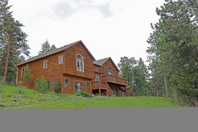 Conifer Single Family Home Sold: 9758 Fallen Rock Road
