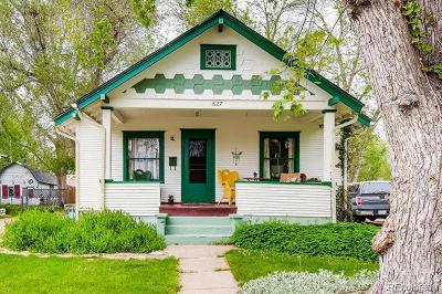 Longmont Single Family Home Active: 627 Gay Street