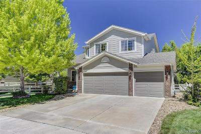 Broomfield Single Family Home Active: 13654 Parkview Place