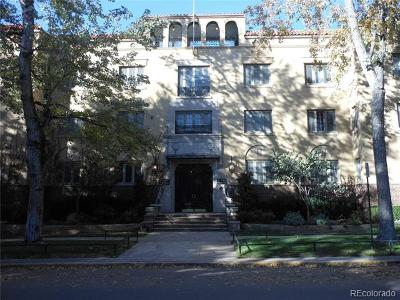Cheeseman & Moffat, Cheeseman Park, Cheesman Park Condo/Townhouse Active: 1515 East 9th Avenue #207