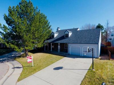 Centennial Single Family Home Under Contract: 5458 East Briarwood Circle
