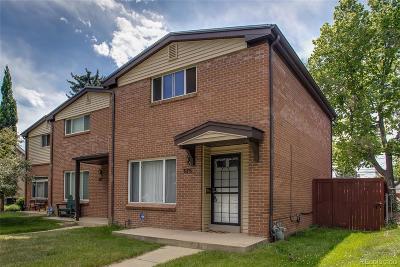 Denver Condo/Townhouse Under Contract: 375 Clarkson Street