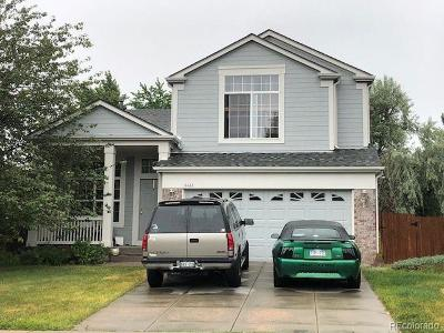 Aurora Single Family Home Active: 4422 South Kalispell Circle