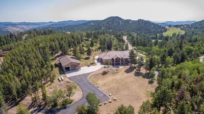 Evergreen Single Family Home Active: 1551 Snyder Gulch Road