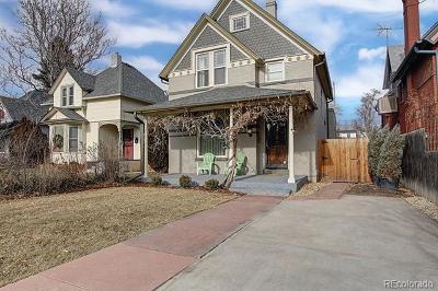 Denver Single Family Home Active: 3045 West 26th Avenue