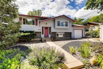Boulder County Single Family Home Active: 3360 Everett Drive