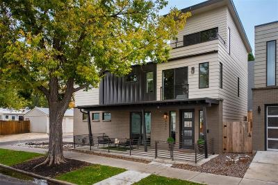 Denver Single Family Home Under Contract: 4566 West 39th Avenue