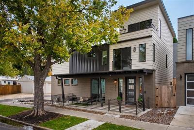 Denver Single Family Home Active: 4566 West 39th Avenue