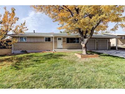 Arvada Single Family Home Active: 7055 Ingalls Court