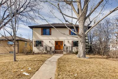 Denver Single Family Home Active: 2585 South Monroe Street