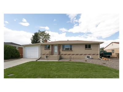 Wheat Ridge Single Family Home Active: 3951 Miller Court