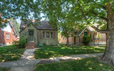 Denver Single Family Home Under Contract: 656 South Vine Street