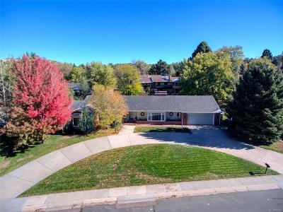 Colorado Springs Single Family Home Active: 2933 Marilyn Road