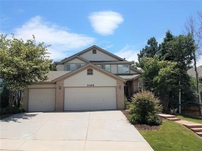 Littleton Single Family Home Active: 2466 West Sunset Drive