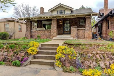 Single Family Home Active: 1281 South Corona Street