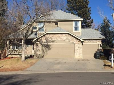 Arapahoe County Single Family Home Active: 3986 South Sable Circle