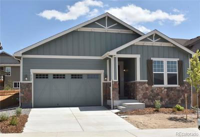 Castle Rock CO Single Family Home Active: $480,000