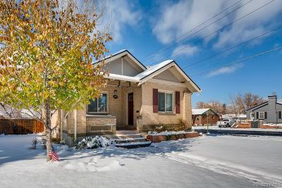 Denver Single Family Home Active: 2757 North Fillmore Street
