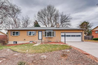Lakewood Single Family Home Under Contract: 12182 West Dakota Drive