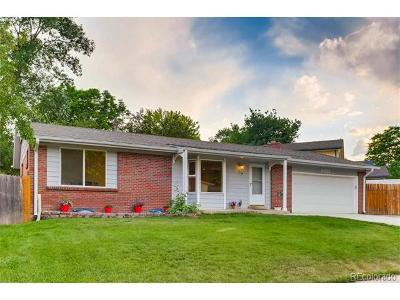 Littleton Single Family Home Active: 5822 West Maplewood Drive