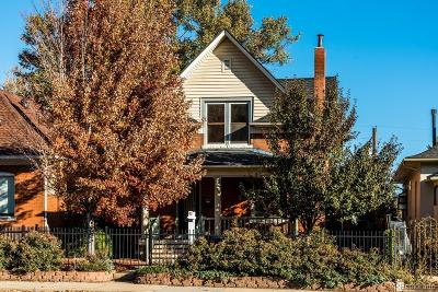 Denver Single Family Home Active: 2771 West 38th Avenue