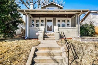 Denver Single Family Home Active: 2131 South Franklin Street
