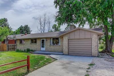Wheat Ridge Single Family Home Active: 4645 Garland Street