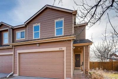 Northglenn Condo/Townhouse Under Contract: 2530 East 110th Place