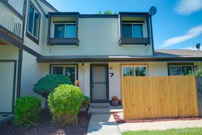 Arvada Condo/Townhouse Active: 8796 Chase Drive #7